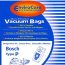 Bosch 207, Paper Bag, Bosch Type P Canister Micro Env 5 PK