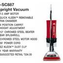 Eureka SC887B, Vac, Sanitaire Vacuum 7Amp 12