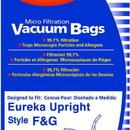 Eureka 216-9, Paper Bag, Eur Style F&G Microfilter Env 9PK