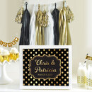 Event Blossom EB3058FCT Custom Text Sign Metallic Foil