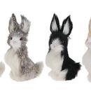 Furry Animal Kingdom R1823 Rabbit Set Of 4