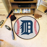 "FANMATS Detroit Tigers Baseball Rugs 29"" diameter"