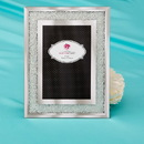 FashionCraft 12209 Silver glass with small stones - mirror frame 4 x 6
