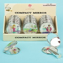 FashionCraft 12407 Six assorted chic chicks themed mirror compacts, 18/Pack