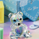 FashionCraft 2248 Choice Crystal Collection Teddy Bear Figurines