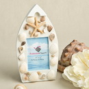 Fashioncraft 4230 Sea Shell Boat Shaped Photo Frame With Natural Shells