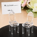 FashionCraft 4453 Miniature clear Acrylic formal reception chairs
