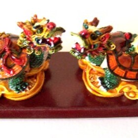 Feng Shui Import Dragon Turtles - 1174