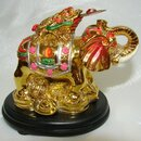 Feng Shui Import Colorful Money Frog on Elephant - 1597
