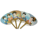 Feng Shui Import Japanese Geisha Fans for Dancing - 2560