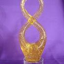 Feng Shui Import Crystal 8 Symbol - 2739
