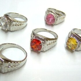 Feng Shui Import Crystal Quartz Rings - 849