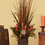Floral Home Decor Pheasant Feather, Grass and Protea Natural Floral Design NC130