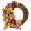 Floral Home Decor Sunflower and Black Eyed Susan Grapevine Wreath - Burlap Bow WR4865