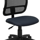 Flash Furniture WL-A277-NVY-GG Contemporary Mesh Task Chair - Navy Blue Fabric Seat