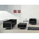 Flash Furniture ZB-IMAG-SET11-GG HERCULES Imagination Series Black Leather Loveseat, Chair & Ottoman Set