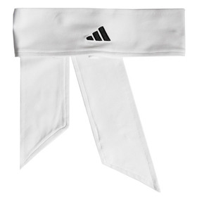 Adidas 957259 Tennis Tie Band, White/Black