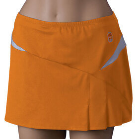 Duc W0904-OR Team Compete Skirt (W), Orange/White