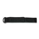 Backboard Strap 7ft with Double D Rings Black
