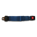 Backboard Strap 5ft with Seat Belt Buckle and Loops Navy