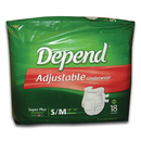 Depend Adjustable Underwear Sm/Med 28