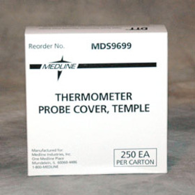Medline Temple Thermometer Probe Covers (250/bx)