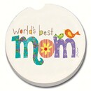 Counter Art CART10860 World's Best Mom Car Coaster