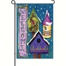 Premier Designs PD51072 Welcome Winter Birdhouses Garden Flag