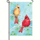 Premier Designs PD56035 Winter Cardinal Garden Flag