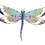 Regal Art & Gift REGAL10187 Purple Dragonfly Wall Dicor