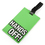 "Luggage Tag with Identification Card - ""Hands Off"" , Travelling Accessories"