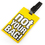 "Luggage Tag with Identification Card - ""Not Your Bag"", Assorted Random Colors, Travelling Accessories, Price/6 Pcs"