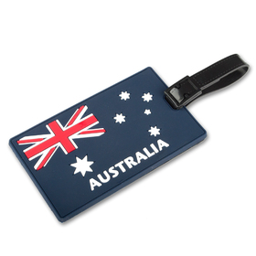 Australia National Flag Luggage Tags, Travelling Accessories, Price/6 Pcs
