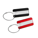 TopTie Set of 2 Metal Luggage Tag Business Name Card Travel Accessories