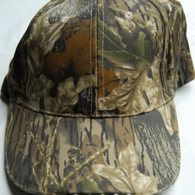 Ghillie Suit LED's Built in to a Camouflage Baseball Cap
