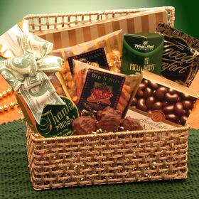 A Golden Thank you, Gift Basket