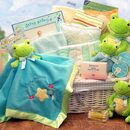 Gift Basket 890131-PRINCE Just Hoppin Around New Baby Hamper-Prince