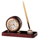 Howard Miller GP-280 Howard Miller Roland Desk Clock with Pen