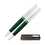 Cross GP-724 Cross Calais Pen and Pencil Set - Green