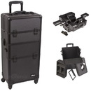 Ver Beauty I3661DTAB Black Dot Trolley Makeup Case - I3661
