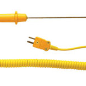"General Tools ""K"" Type Piercing Probe, Stainless Steel With Extendable Cord (80Pk5A)"