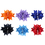 "Alice Girls Headbands Boutique 7.5""Inch Forked Tail Hair Bow Clips (Pack of 12)"