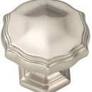 Belwith P3260-SN Knob 1-3/8in SATIN NICKEL