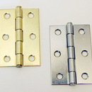 Butt Hinge 2-1/2x1-3/4 BRASS Plated