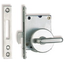 SlidingDr Latch LargeLever Satin/SS