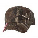 Outdoor Cap CWF305 Camo with Usa Flag Camouflage Hunting Cap