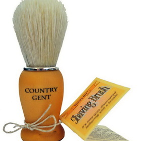 Country Gent Shaving Brush, Boar Bristle