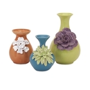 IMAX 25348-3 Baylee Mini Vases - Set of 3