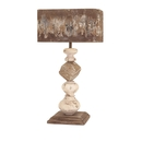 IMAX 89386 Brook Wood and Metal Table Lamp