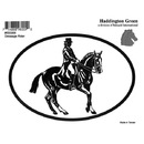 Intrepid International Decal - Dressage Rider